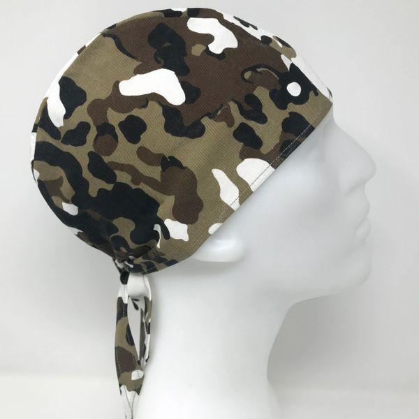 Light-Brown Camouflage Do-Rag