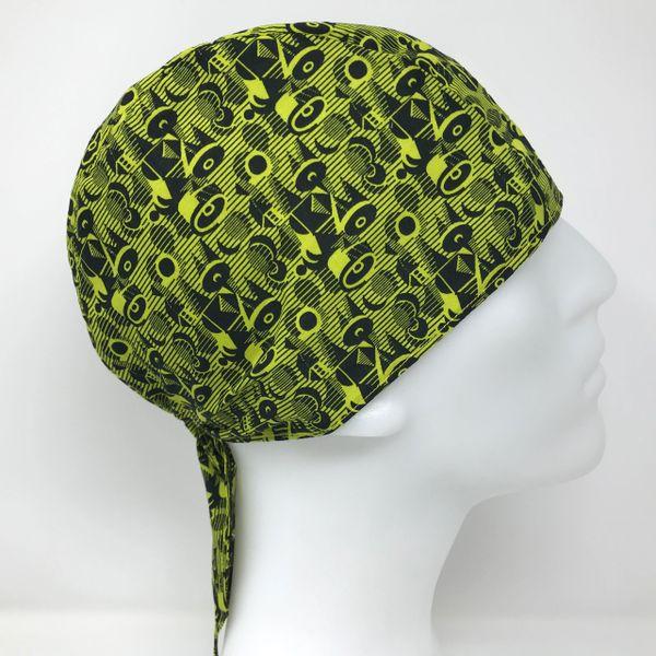 Thrilling Green Do-Rag