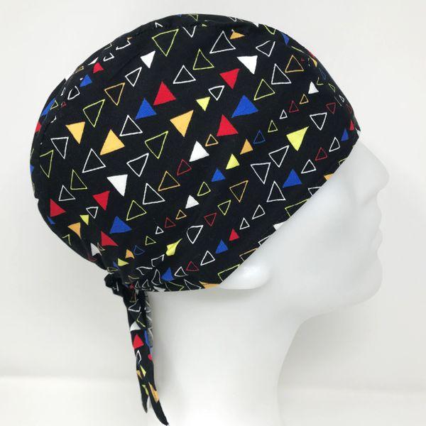 Colorful Triangle Do-Rag