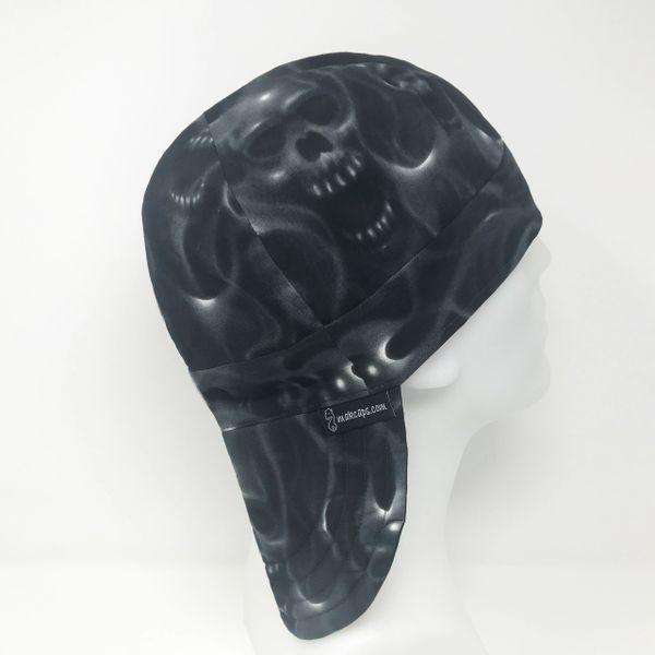 Flaming Skulls (Long Brim-5 inches)