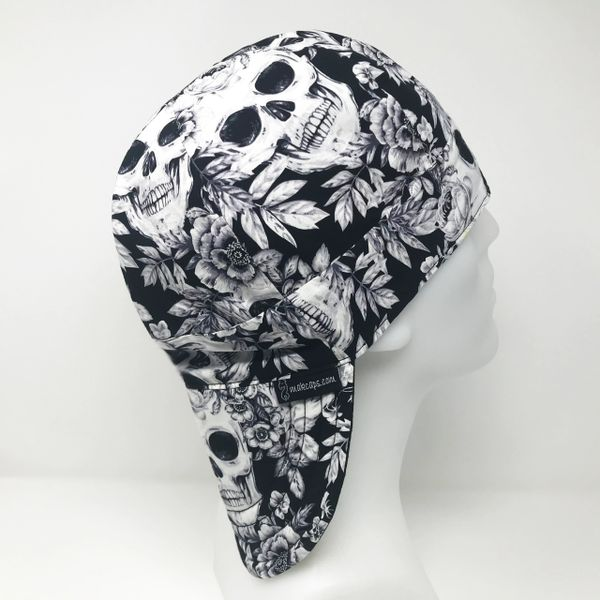 Vintage Skulls (Long Brim-5 inches)