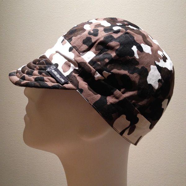 Low Crown Hat - Dark-Brown Camouflage