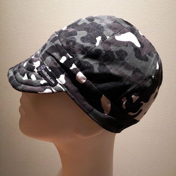 Low Crown Hat - Dark-Green Camouflage