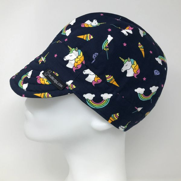 Rainbow Unicorns (Dark-Blue)