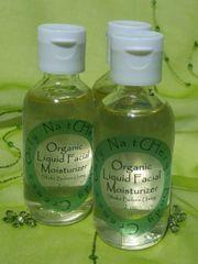 Organic Liquid Facial Moisturizer, 2oz