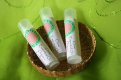 Organic Lip Balm with Essential Oils