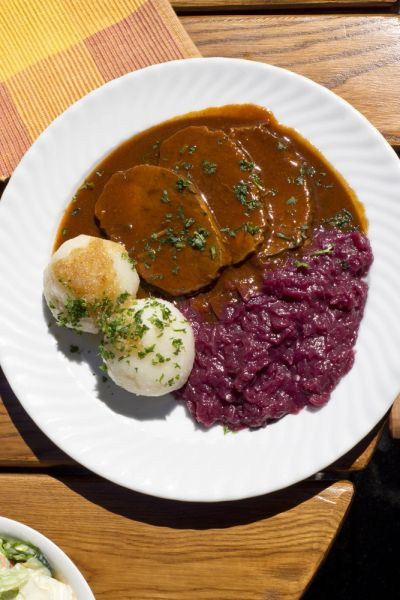 Previous Item: Sauerbraten with Blaukraut (Braised Red Cabbage & Apples) and Knödel (German Potato Dumplings) - ($15 Per Person / Time to Cook: 30 min. / Cook By Day: Wednesday)