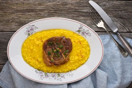 Previous Item: Ossobuco Milanese with Saffron Risotto and Gremolata (Time to Cook: 30 min. / Cook by Day: Monday)