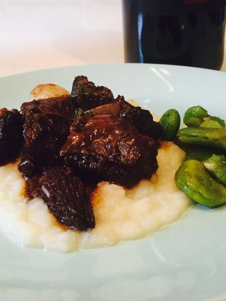 Previous Item: Sous Vide Grass-Fed Short Rib Bourguignon with Pomme Purée and Buttered Peas (Serves 2 / Time to Cook: 30 min. / Cook by Day: Monday)