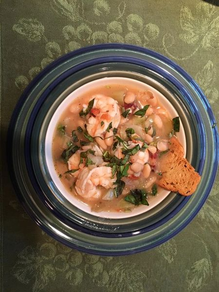 Previous Item: Tuscan Shrimp & White Beans with Puntarella (Sausage Substitute available) - (Time to Cook: 30 Min. / Cook by Day: Thursday)