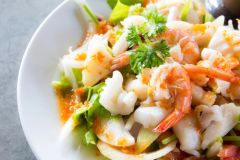 Previous Item: Salad Week! Mixed Seafood Salad with Crab, Shrimp, & Scallops ($16 Per Person / Time to Cook: 20 min. / Cook by Day: Friday)