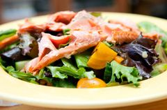 Previous Item: Salad Week! Smoked Salmon Salad with Roasted Beets and Marble Potatoes and a Soft-Boiled Duck Egg ($14 Per Person / Time to Cook: 20 min. / Cook by Day: Thursday)