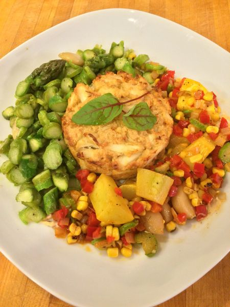 Previous Menu: Baltimore Crab Cakes with a Warm Old Bay Potato Salad and Seasonal Succotash ($16 Per Person / Time to Cook: 30 min / Cook By Day: Friday)