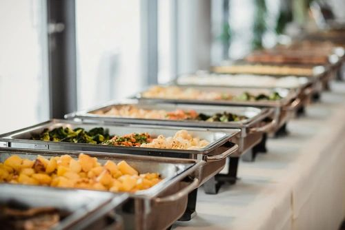 Catering Services available. For inquiries, send an email to Contact@CookDC.com.