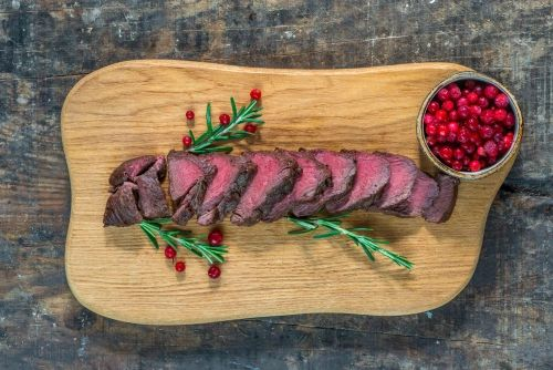 Previous Item: Sous Vide Venison Tenderloin with Cumberland Sauce, Celery Root Purée, and Romano Beans (Time to Cook: 30 min. / Cook by Day: Monday)