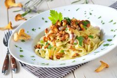 Previous Item: Fresh Linguine with Chanterelles in a Fresh Black Winter Périgord Truffle Cream Sauce (Garlic-Infused Olive Oil Substitute Available) - (Time to Cook: 20 min. / Cook By Date: Sunday)