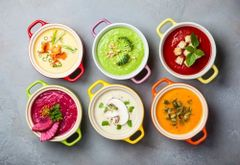 Previous Items: Soups of the Week! All Ready-to-Eat: Sobronade (Ham and White Bean) and Velouté de Celeri (Celery Root)