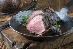 Previous Item: Aurochs or Wild Boar Roasts with a Grains of Paradise Sauce, Medieval Armoured Buttered Turnips, Baked Apples (Time to Cook: 30 min.)