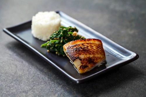 Previous Item: Miso Cured Black Cod with Chilled Cucumber Salad (Time to Cook: 30 min., / Cook by Day: Saturday)