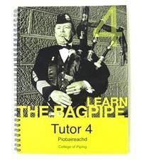 College of Piping Piobaireachd Tutor Bk 4