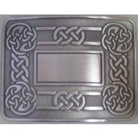 Celtic Swirl Buckle - Antique