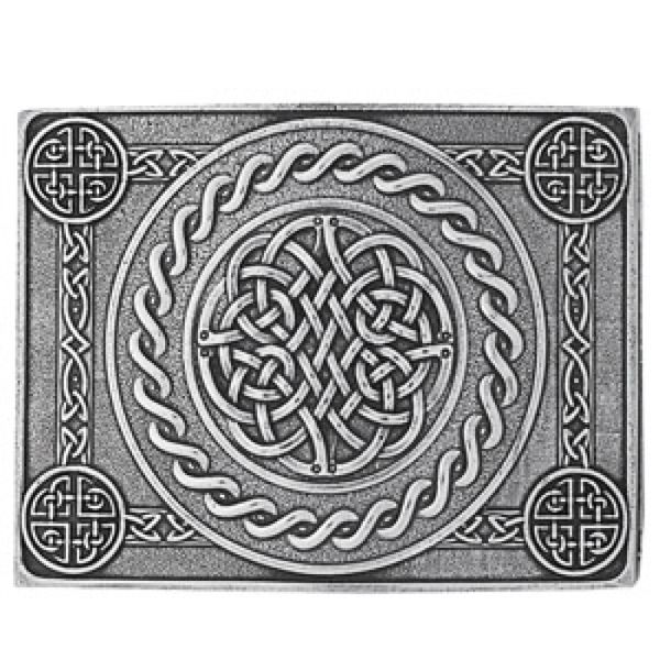 Celtic Knot Four Dome Buckle