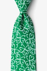 Get Lucky Irish Tie