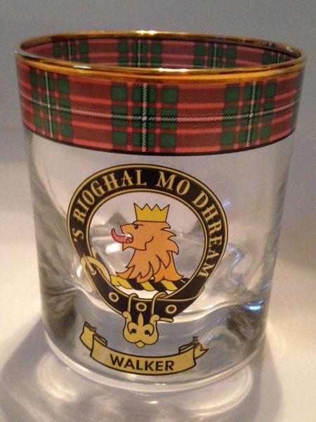 Clan Whiskey Glass