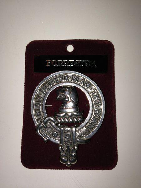 Clan Crest Cap Badge A - L