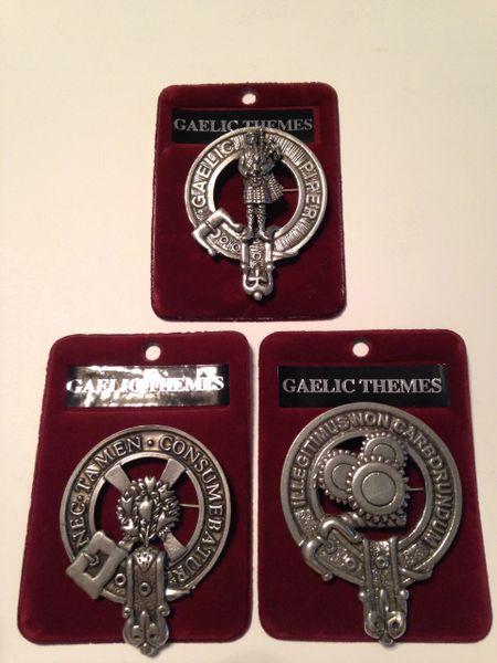 Cap Badge - Gaelic Themes