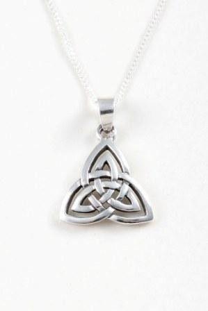 Double Trinity Knot Pendant