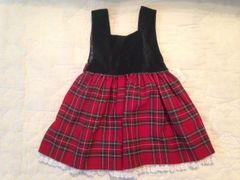 Child Tartan Dress