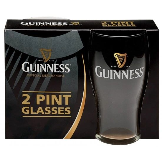 Guinness 20 oz Glass Pack
