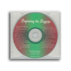 Beginning the Bagpipe CD
