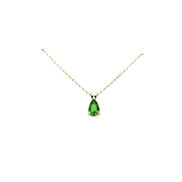 925 STERLING SILVER,COLOR CHANGEABLE SULTNITE DROP PENDANT-33CZ09-ST