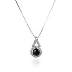 925 Sterling Silver,Ammolite,Round Pendant,33OP156