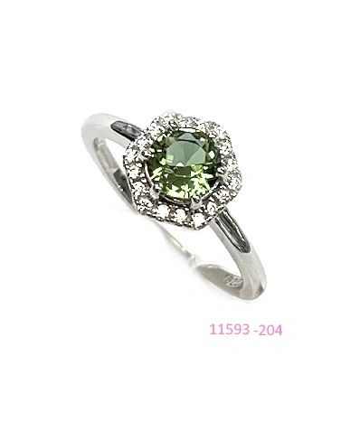 925 SILVER COLOR CHANGING SULTNITE STONE RING - 11593-204