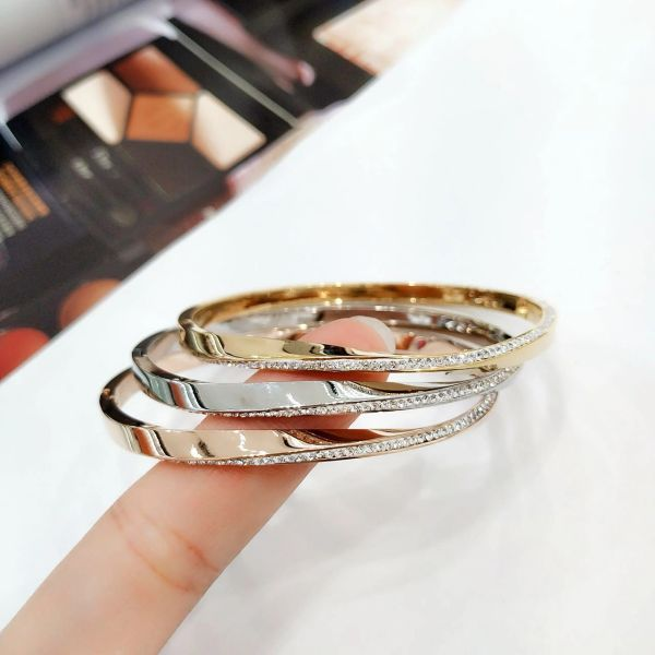 Stainless Steel cz fancy Lady Fashion STYLE Bangle -SSB50383