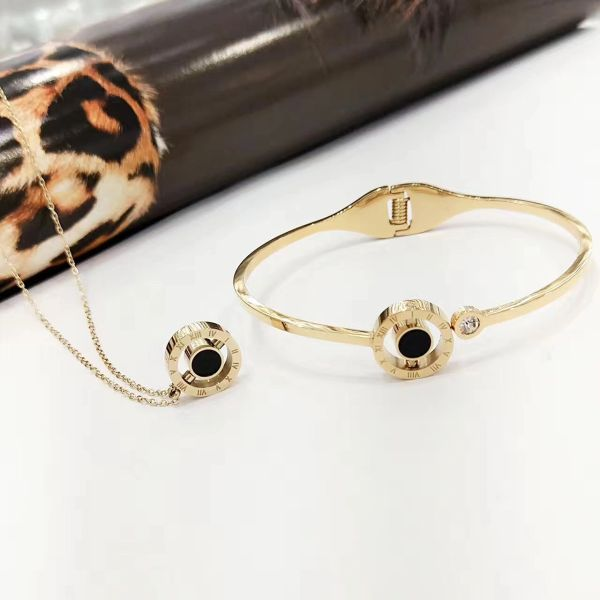 SSB50332 Stainless Steel Numeric Bangles