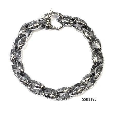 Stainless Steel SNAKE SKIN Bracelet , SSB1185