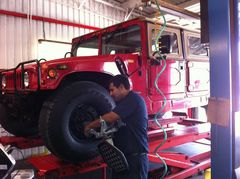 Four Wheel Alignment Service