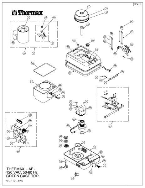 AF-1 Main Unit Diagram