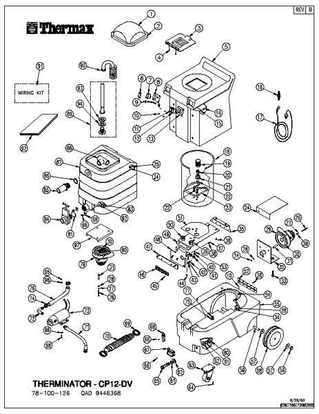 DV-12 Main Unit Diagram