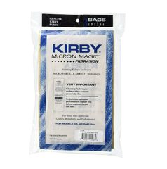 Kirby Micron Magic Bag Filtration (3 Bags) Part 197294