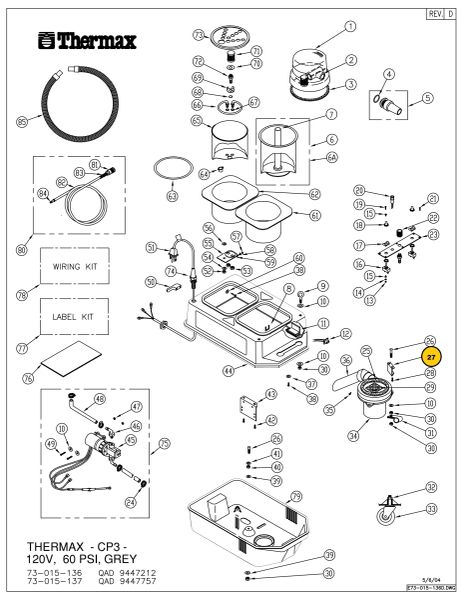 BRACKET, VAC MOTOR, CP3 03-065-00
