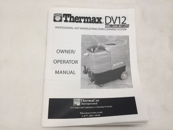 MANUAL, OWNERS, DV12, 06-376-00