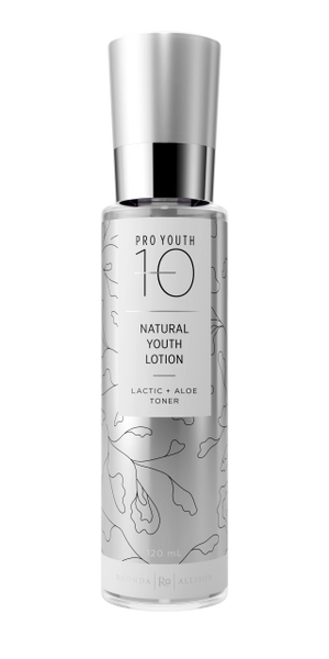 Natural Youth Lotion/Lactic Aloe Toner (ProYouth/Minus10) - 30ml and 120ml sizes