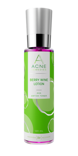 Berry Wine Toner (Raspberry Lotion) Acne Remedies™ - 30ml and 120ml sizes