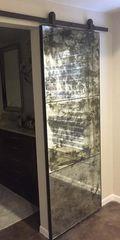 Antique Mirror Door-Modern