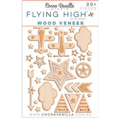 Cocoa Vanilla Flying High Wood Veneer